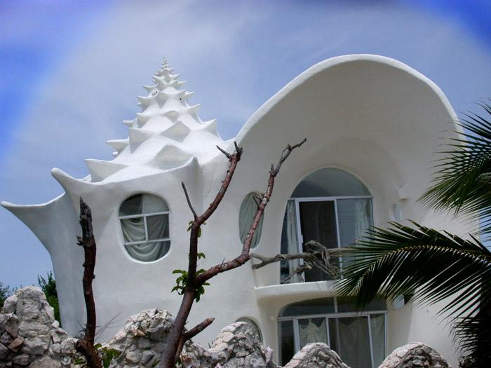 Shell house, México