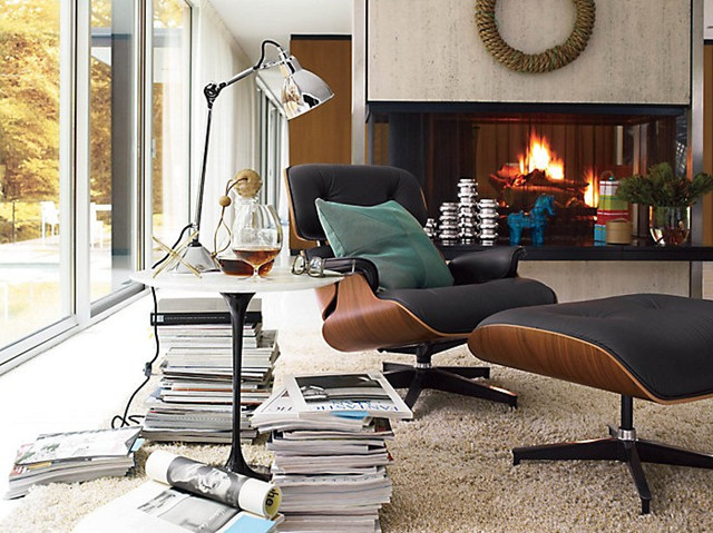 Herman Miller Eames Lounge Chair & Eames Lounge for office home