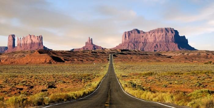 A caminho do Gran Canyon