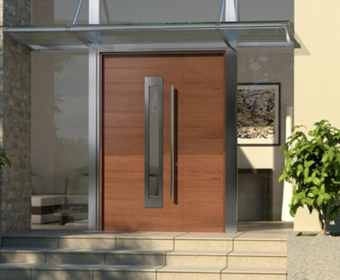 Inspira es e modelos de portas de entrada - Entradas para casas ...