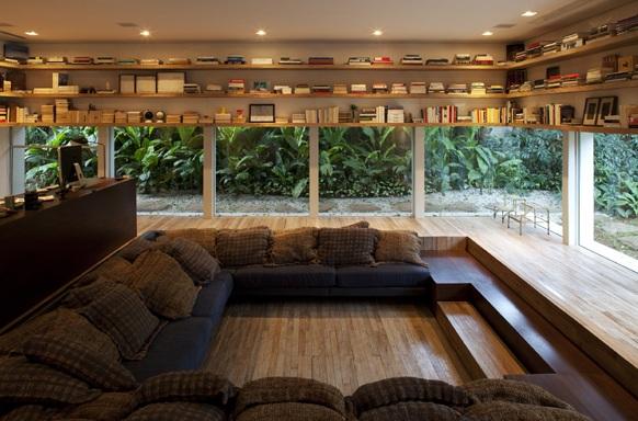 arquiteto indaiatuba - diana brooks - casa piso madeira