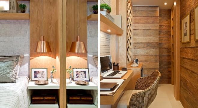 parede revestida de madeira de demolição - arquiteto indaiatuba - decoradora indaiatuba