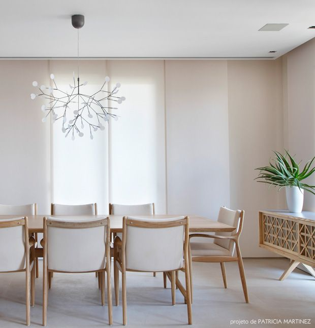 decoração simples e bonita sala de jantar