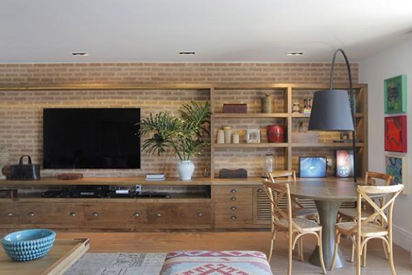 estantes de tv bonita