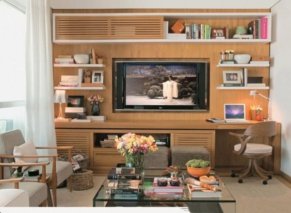 Ideias De Painel Para Sala De Tv ~ 10 Dicas e idéias de painel de TV para sala!