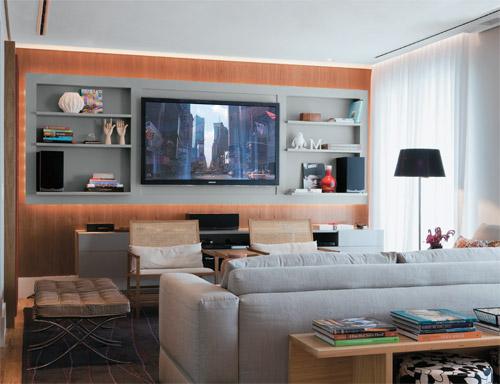 10 Dicas e idéias de painel de TV para sala!
