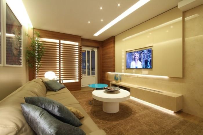 painel de tv marmore e laca
