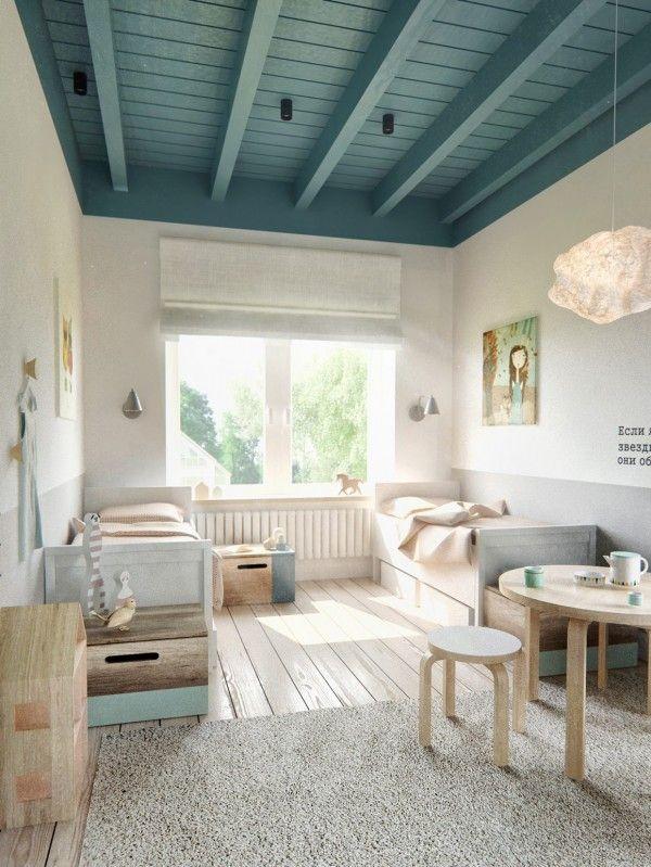 quarto de criança neutro estilo escandinavo