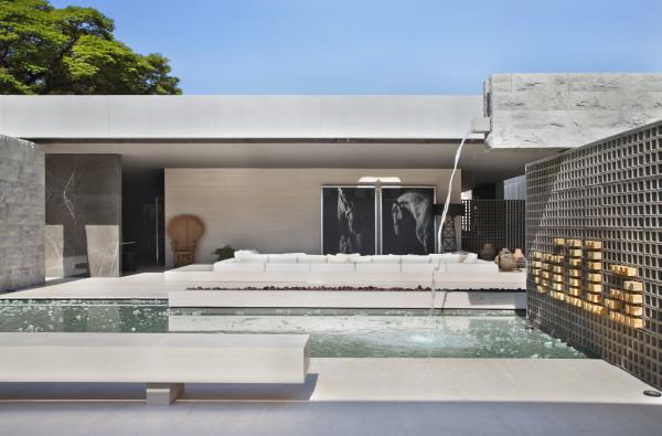 piscina com cascata arquiteto