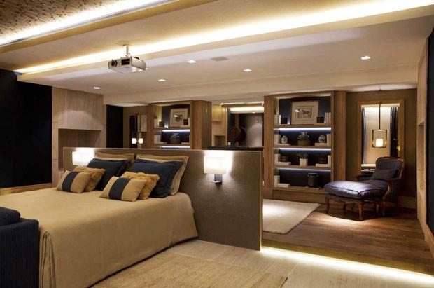 decoração quarto linda suite master