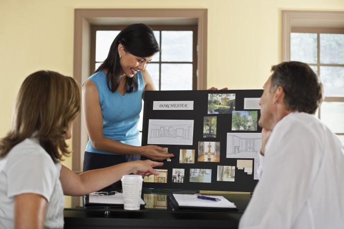 Interior Designers at Work