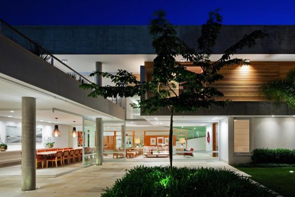 casa arquitetura moderna indaiatuba