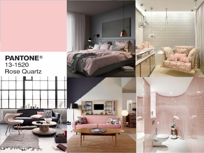 rose quartz decor