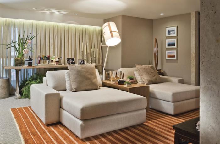 sala bonita decoração confortavel
