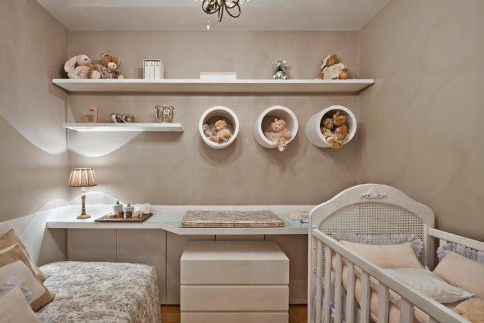 quarto de bebe unissex