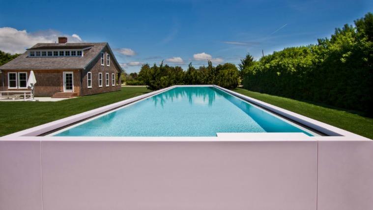 corian material piscina bonita