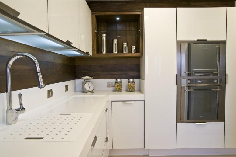 escorredor cozinha moderna bancada