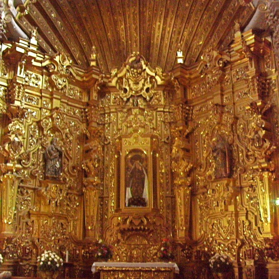 Ouro nas igrejas