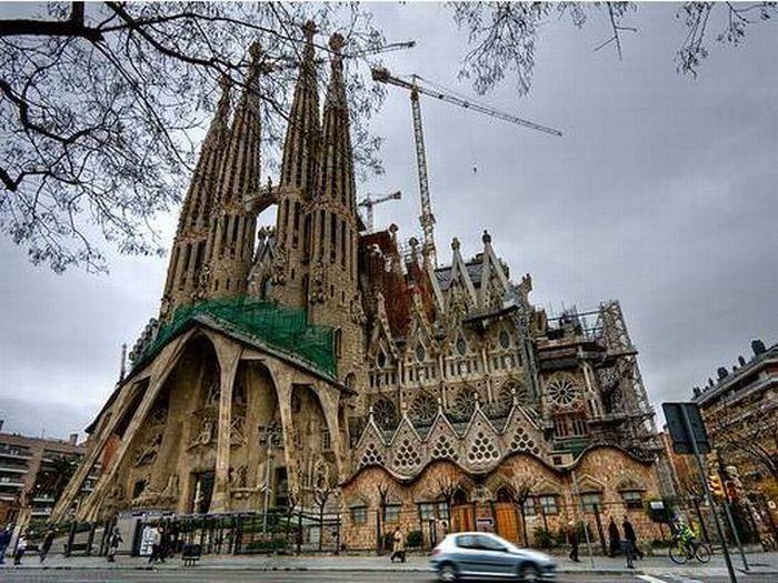 Sagrada Família incabada