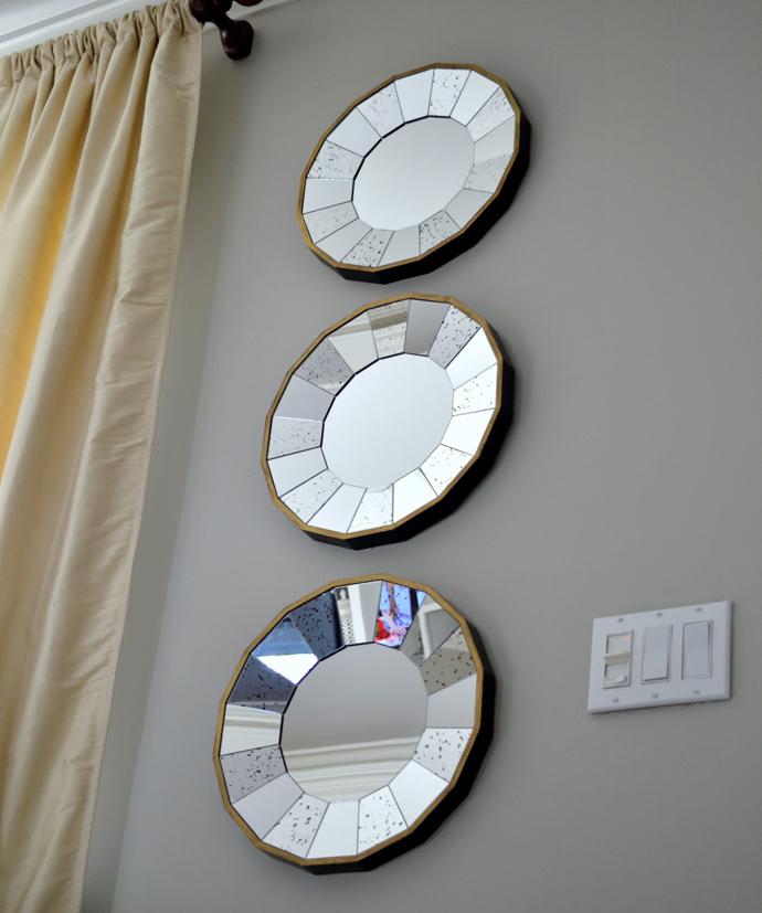 Trio de espelhos