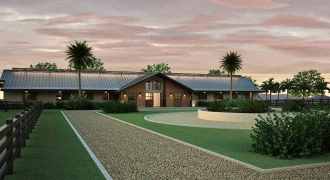 Projeto de haras para cavalos - Hípicas e fazenda arquiteto