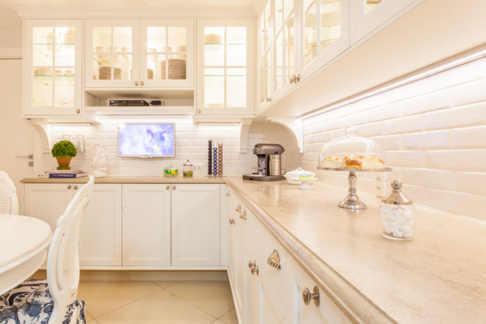 cozinha bonita estilo classico provençal