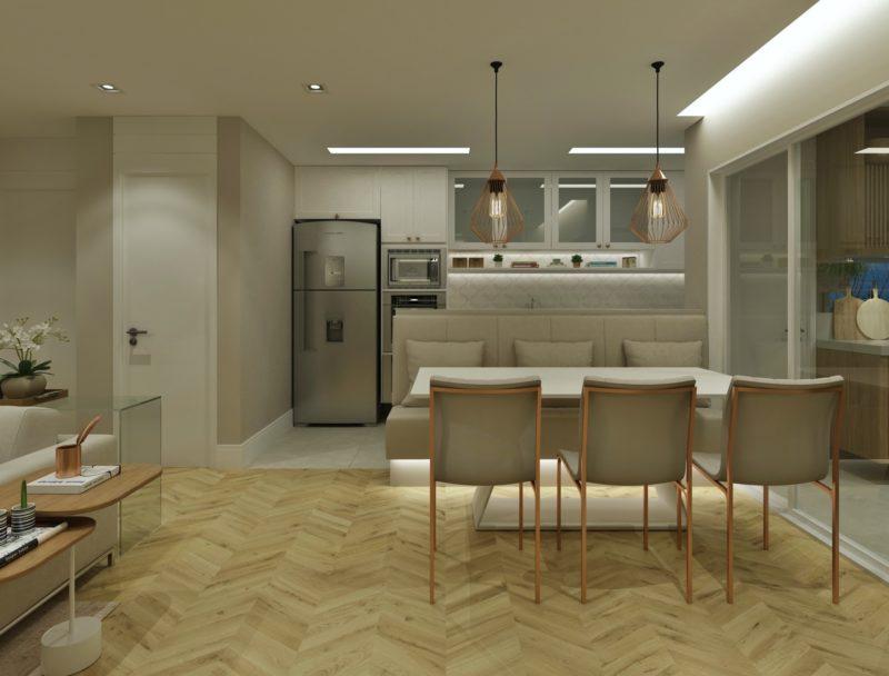 Apartamento decorado Indaiatuba - Arquiteta Diana Brooks