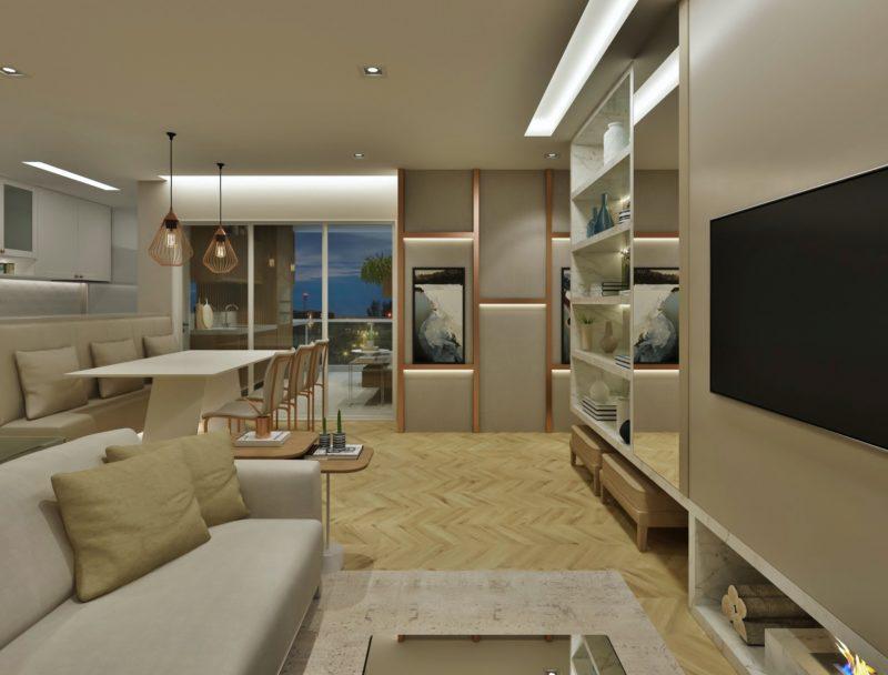 Decoração apartamento Indaiatuba - Arquiteta Diana Brooks
