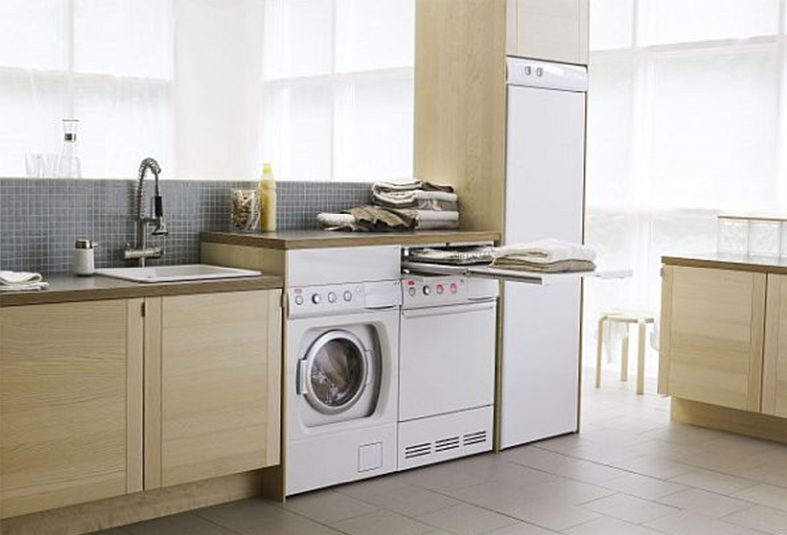 laundry room in kitchen ideas 15 id 233 ias praticas e funcionais de lavanderia 25015